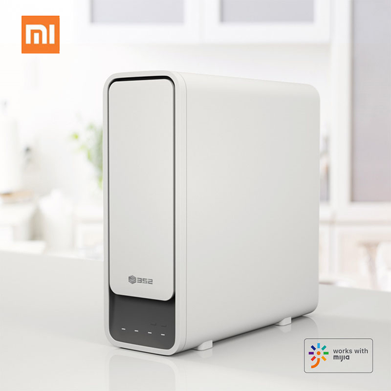 Xiaomi 2.6L/Min Big Capacity Water Purifier Quick Water Filtration Home Kitchen Water Filters Healthy Drinking Water Cooking