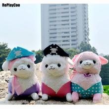 35CM Kawaii Alpaca Plush Toy Alpacasso Stuffed Animal Soft Alpaca Stuffed Kids Toys Baby Toy Alpacasso