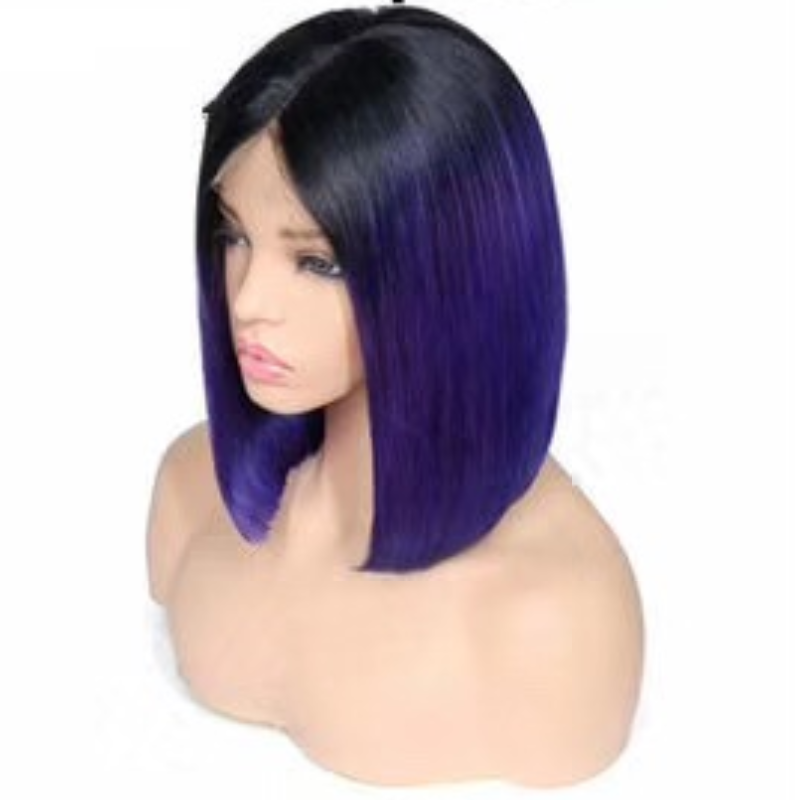 Remy Burmese Hair Bob Short Human Hair Wigs
