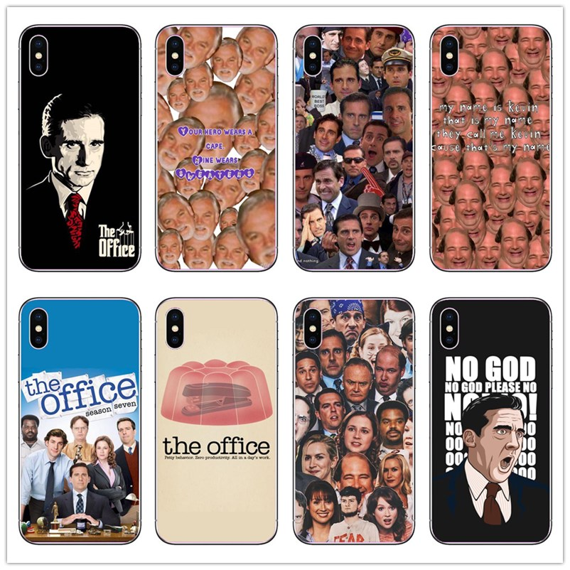 Hot The Office Fashion Phone Soft Cover For <font><b>Iphone</b></font> 11Pro Max X XS XSMAX XR 6S 7 8Plus 7 Plus TV the office cast <font><b>Cases</b></font> image