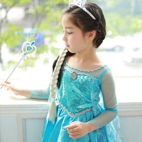 Promotion-High-Quality-Girls-Princess-Anna-Elsa-Cosplay-Costume-Kids-Party-Dress-SZ-3-8Y-2