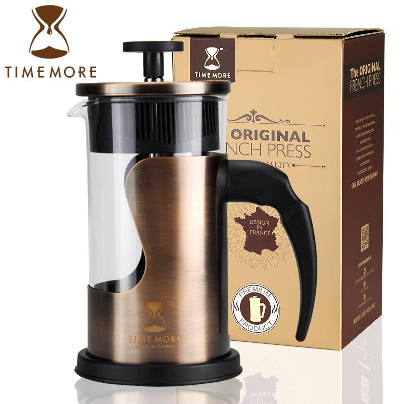Glass Teapot Coffee Maker : Timemore coffee pressure pot method stainless steel tea maker glass coffee pot on Aliexpress.com ...