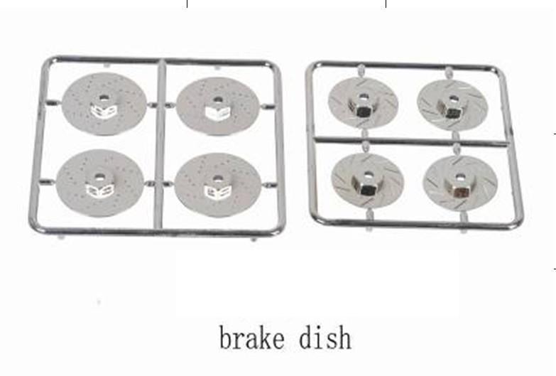 Ewellsold plástico disco freno para 1 10 en carretera drift coche camión 2  set lote envío libre 8c17445bb6ed