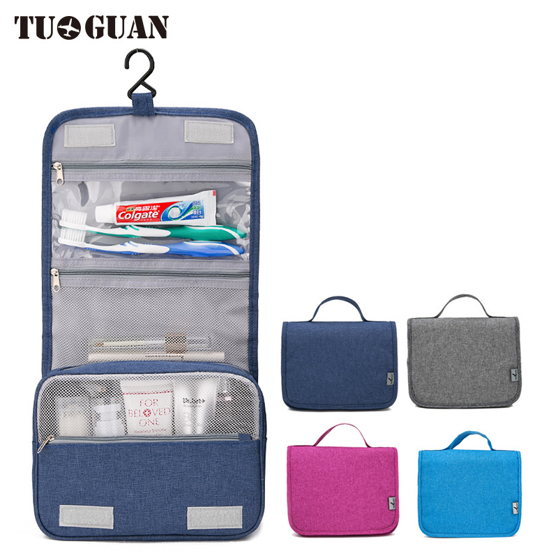TUGUAN Cosmetic Bag Makeup Bags Men/Women Waterproof Business Travel Hanging Toiletry Cases Portable Organizer Wash Pouch domus parati обои domus parati ornamenta 95605