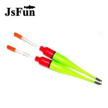 JSFUN 10PCS/PACK Luminous Float 7g 16cm Luminous Multifunction Float Light Fishing Floater Accesorios Pesca ff1002