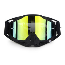 30a34b38d3e Soman Motorcycle Racing Glasses Off Road Motocross Goggles MX ATV MTV Dirt  Bike Snowmobile Eyewear Sports. 6 Colors Available