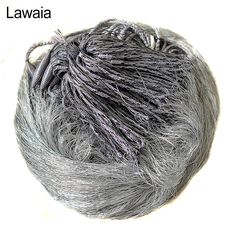 Lawaia Fishing Gill Net 1.8*30m Multifilament Fishing Nets Finland Net for Fishing Gillnet 3 Layers Catch Fishing Network