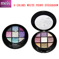 quality eyeshadow palette 9 colors shadows makeup maquiagem with eye pencil 5 pieces / set wholesale Free shipping 0902