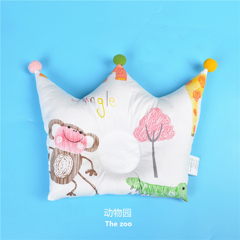 Shaping Pillow Baby Newborn Cute Backrest Cushion 0-1 Years Old Anti-head Correction Pillow Bedroom Bedding Room Decoration 2