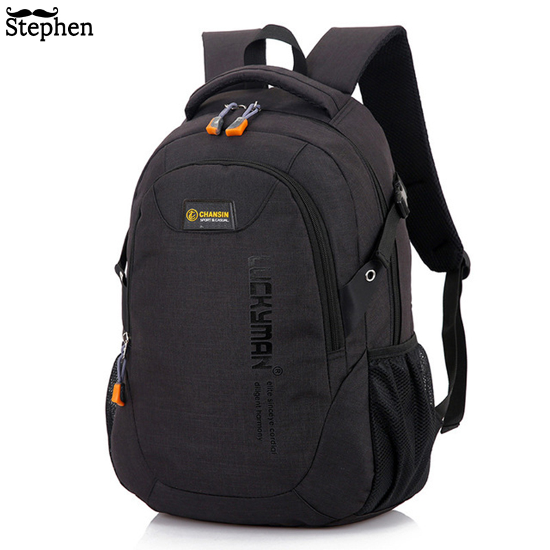 2019 Men Backpack Oxford Male Travel bag Backpacks fashion men and women Designer student bag laptop bag High capacity backpack(China)