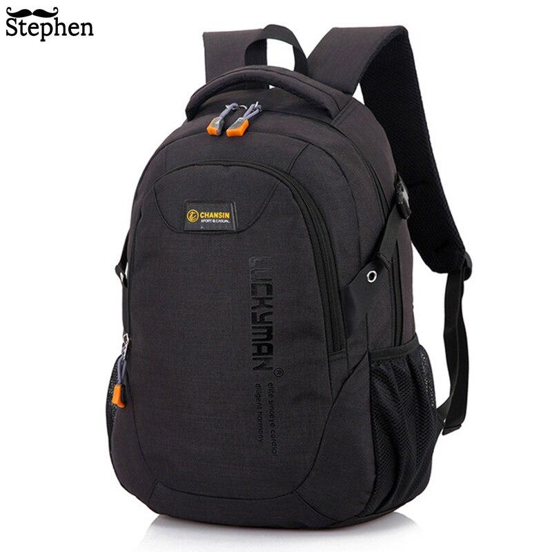 2018 mochila para hombre, mochila de viaje para hombre, mochila de moda para hombre y mujer, mochila de estudiante, mochila de alta capacidad para ordenador portátil