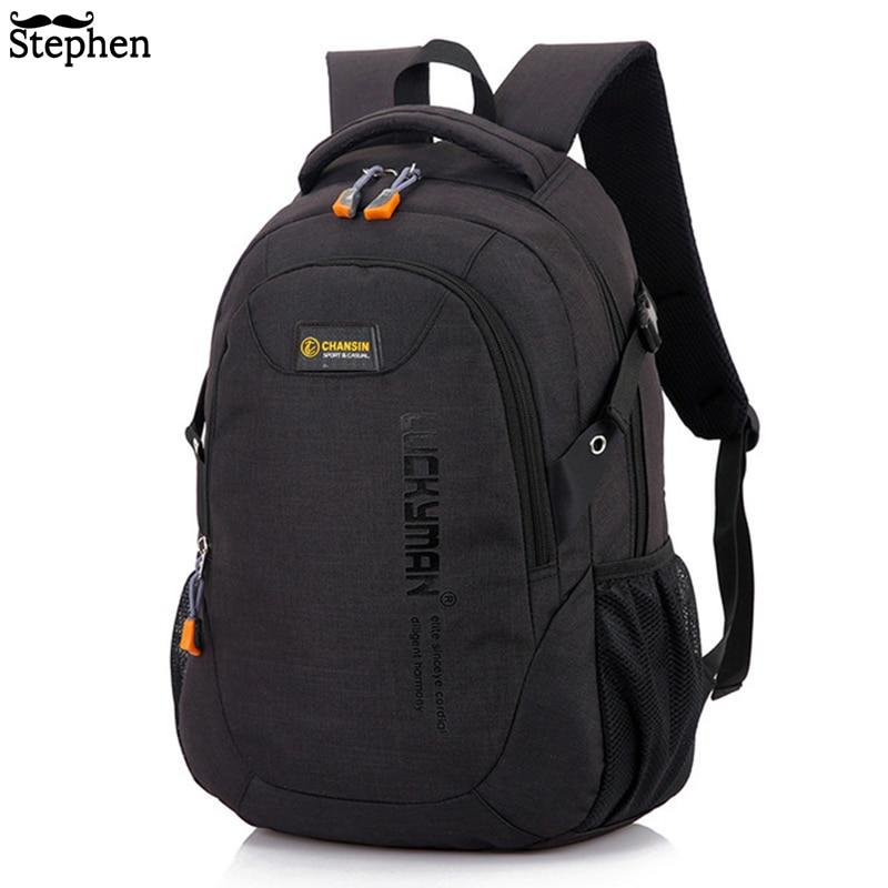2019 hombres mochila Oxford Hombre bolsa de viaje mochilas de moda de los hombres y las mujeres de bolso del ordenador portátil de alta capacidad de mochila