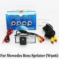 Câmera de segurança Para Mercedes Benz Sprinter (W906) NCV3/RCA Fio Ou Sem Fio HD Lente Grande Angular Visão CCD Noite Câmera de Visão Traseira