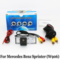 Copia De seguridad de Mercedes Benz Sprinter (W906) NCV3/RCA Cable O Inalámbrica HD Gran Angular de Lente de Visión Nocturna del CCD Cámara de Visión Trasera