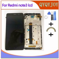QYQYJOY Lcd Screen For Redmi Note 3 Pro Soft Key Backlight Replace LCD Display Touch Screen