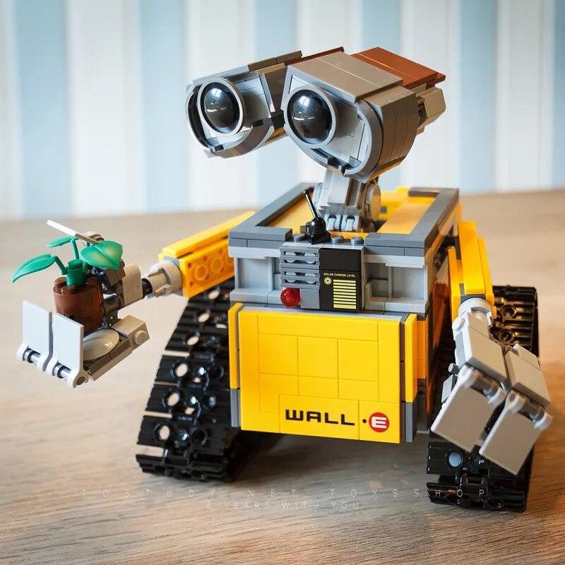 Technic 16003 687PCS Ideas Series Robot WALL E Building Blocks Bricks Educational Toys For Children