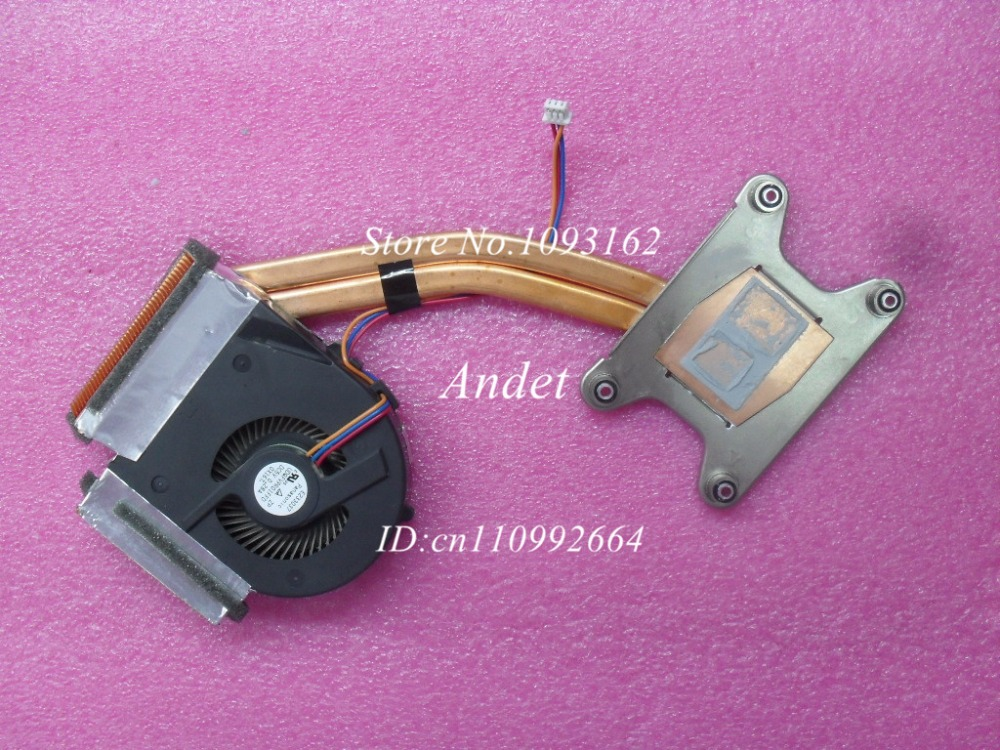 New Original for Lenovo ThinkPad T410 T410I CPU Cooling Heatsink Fan Integrated Graphic Thermal Laptop 45M2723 45N5907 купить