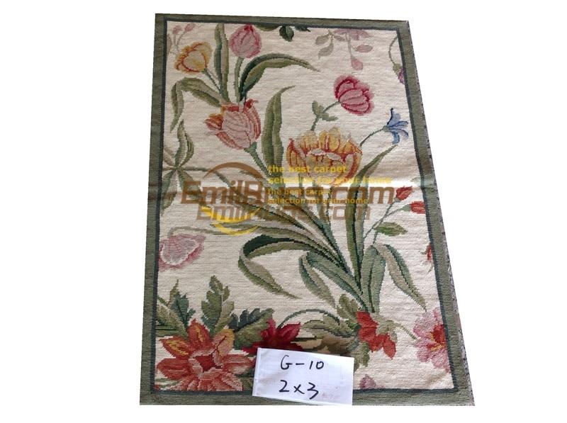 Aiguille tapis broderie tapis 61 CM X 91 CM 2 'X 3' jardin Anglais 33gc3neeyg5