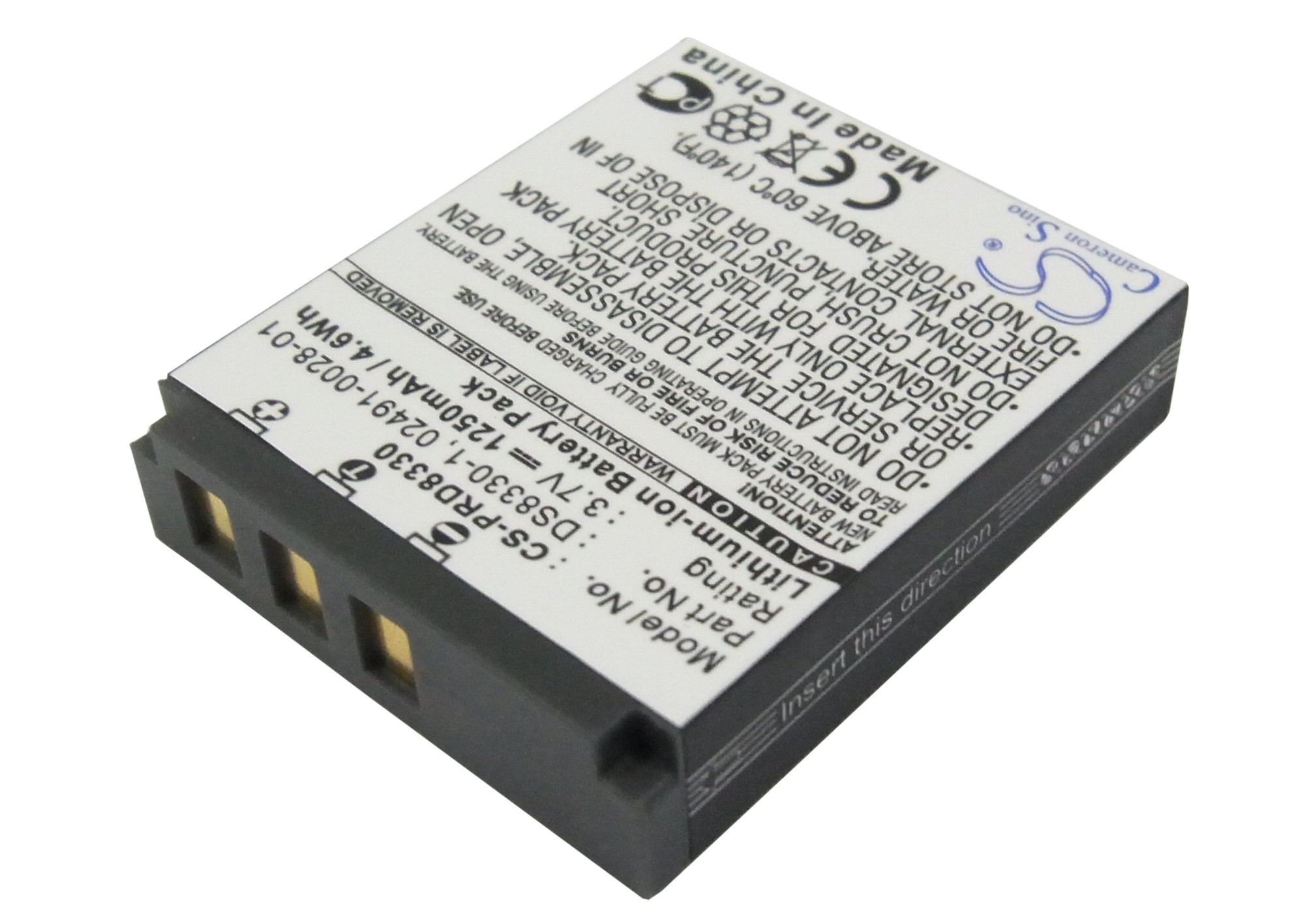 Bateria para Revue dc80sz dc-80sz 80sz batería