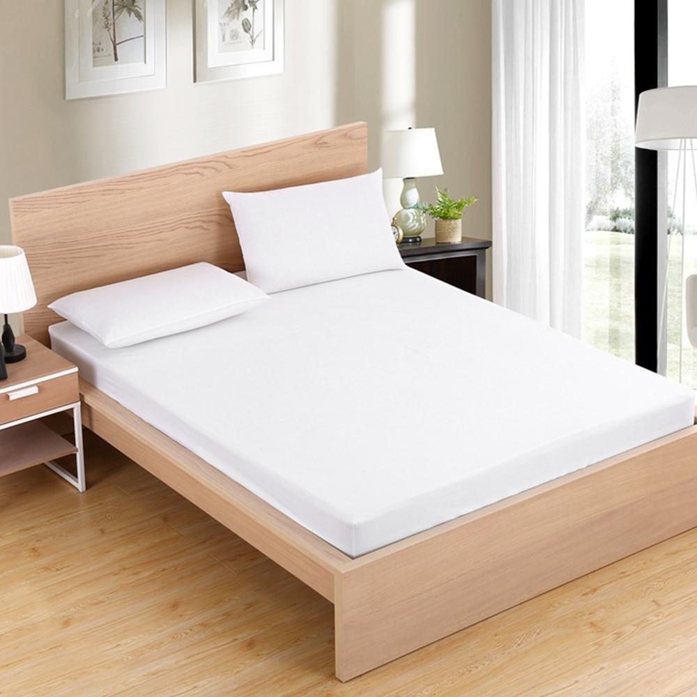 100% Cotton Bed Mattress Cover Mattress topper Protector ...