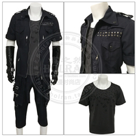 FINAL FANTASY XV Noctis Lucis Caelum Cosplay Costume uniform set halloween Outfit