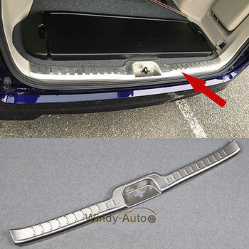 Fit For Nissan Serena 2017 2018 Stainless Rear Bumper Inner Sill Plate Trim