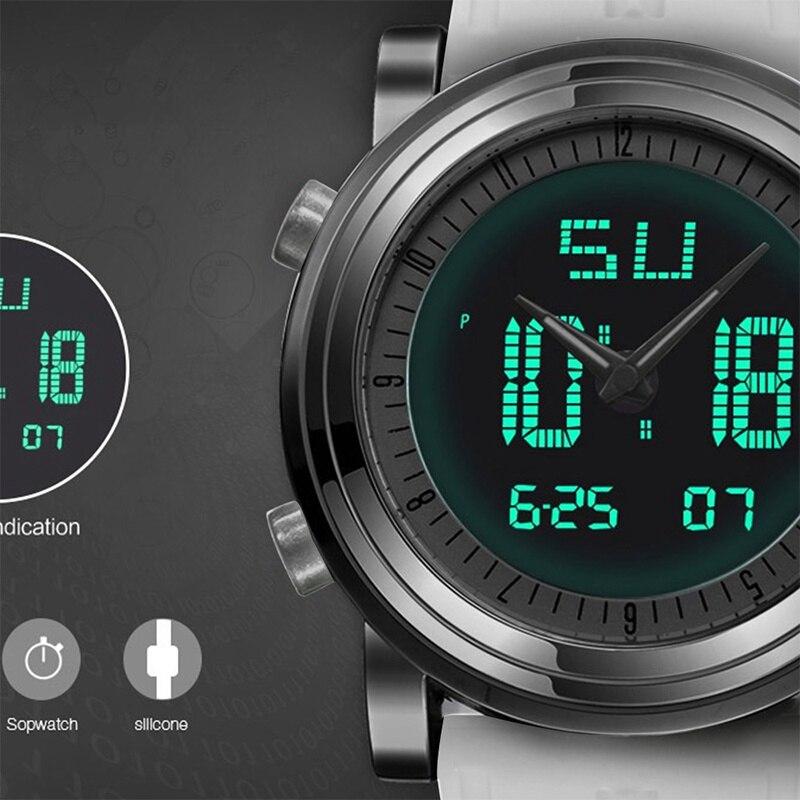 SINOBI 2018 Sport Digital Män Kvinnors Armbandsur Stock Watch Date - Herrklockor - Foto 4