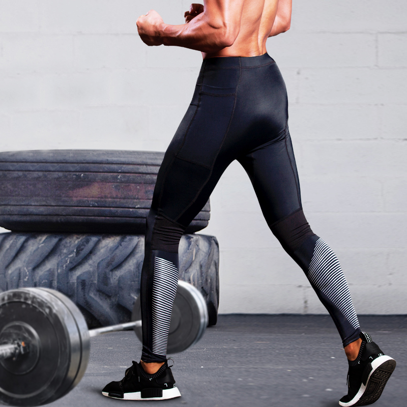все цены на 2018 New High Quality Jogger Pants Men Fitness Bodybuilding Gyms Pants For Runners Clothing Autumn Sweat Trousers Britches