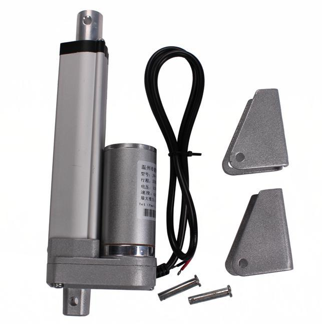Electric linear actuator 12v 100mm stroke 1500n dc motor for Dc motor current limiter