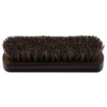 Práctico mango de madera cepillo de Zapatos de cuero suave herramienta de  pulido marrón cepillo herramientas de limpieza del hog. e12bc71545f5