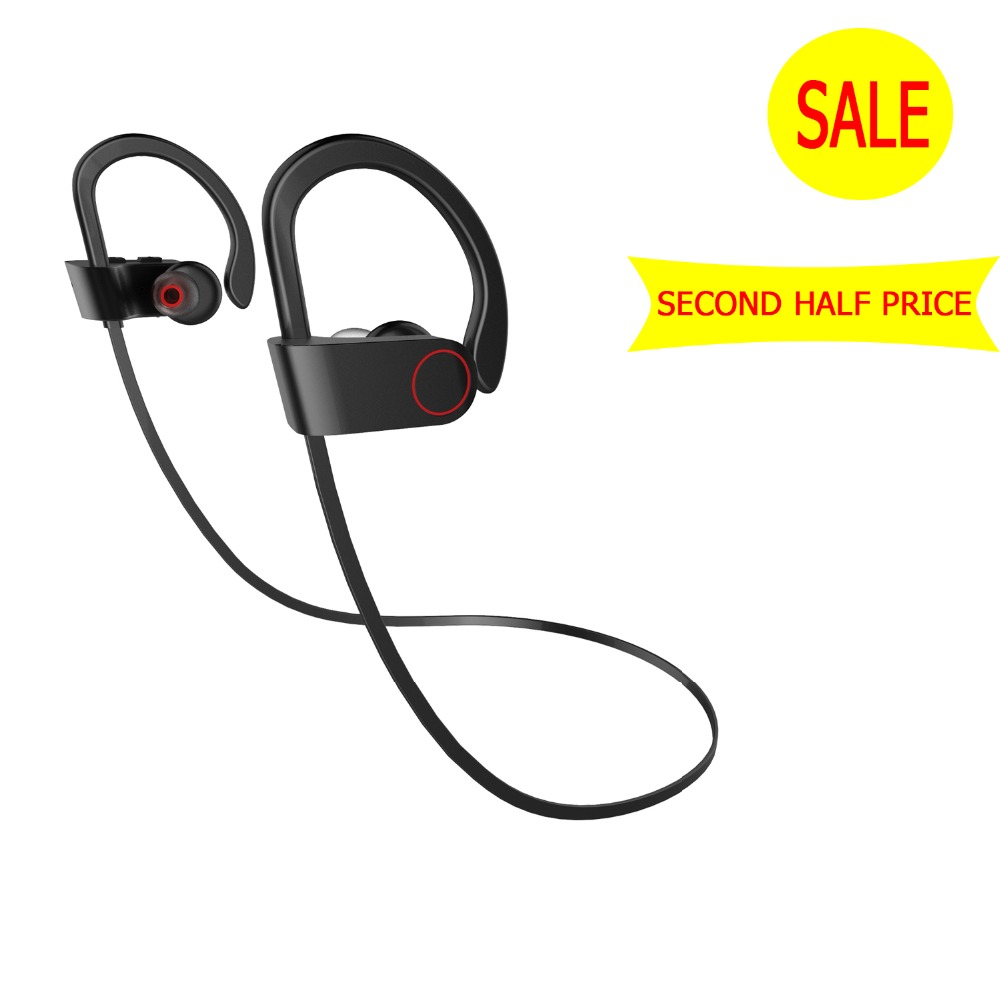 Second Half Price Bluetooth Earphone Waterproof Sports Bluetooth Headset Wireless Earbuds With Mic Hands Free Calling Sport Bluetooth Earphone With Micheadphones Earphones Aliexpress