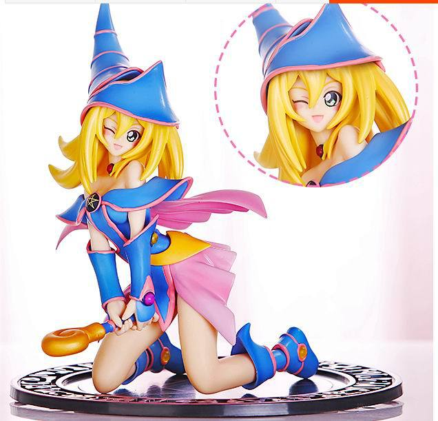 Japanese Anime Figure The Game King Hand Do Dark Magician Girl Pvc Sexy Girl 17cm Pvc Action Figure Model Toys In Action Toy Figures From Toys Hobbies