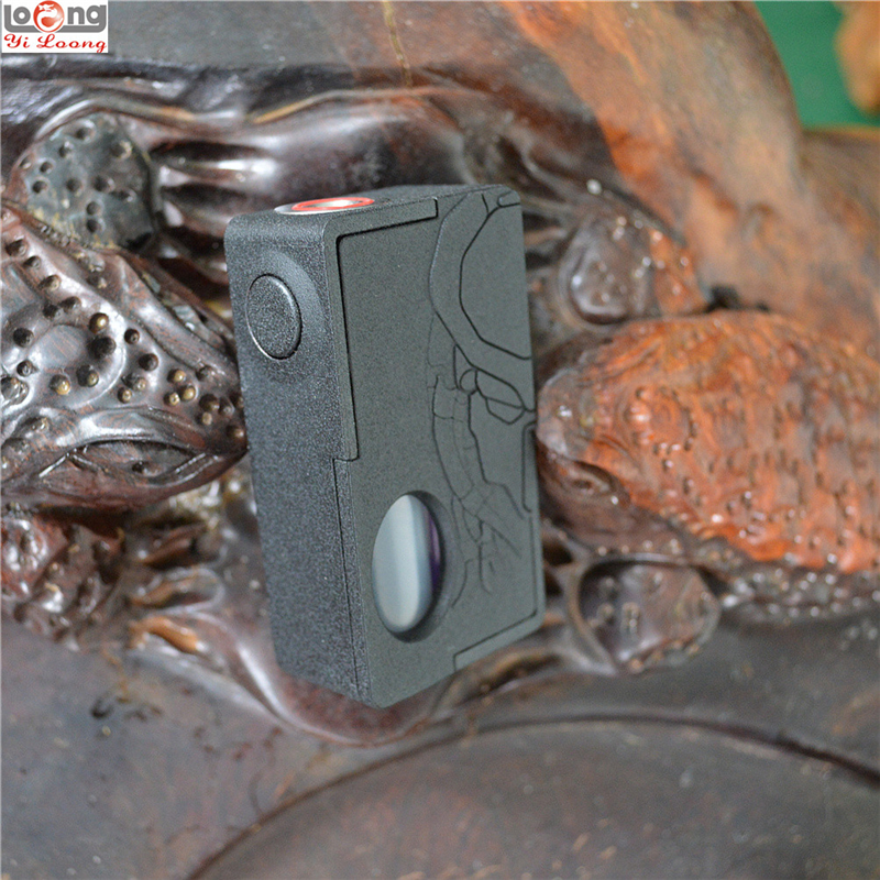Original Yiloong Predator 3D Printed Squonk Box Mod 18650 26650 Battery Squonker BF Box Mod 10ml Buttom Feeding RDA Vape Vapor
