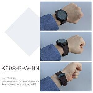 Image 5 - KADEMAN Militär Sport herren Uhr Digital Display Wasserdichte Schritt Zähler Leder Uhr Top Luxus Marke LED Männlichen Armbanduhren