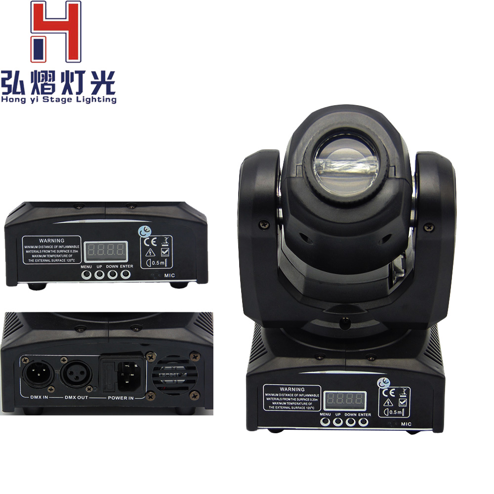 (1 pieces/lot) 2016 newest dj equipment 30W led moving head gobo beam light led mini moving head for stage led effect 4pcs lot remote control 30w led pocket beam moving head light 10ch