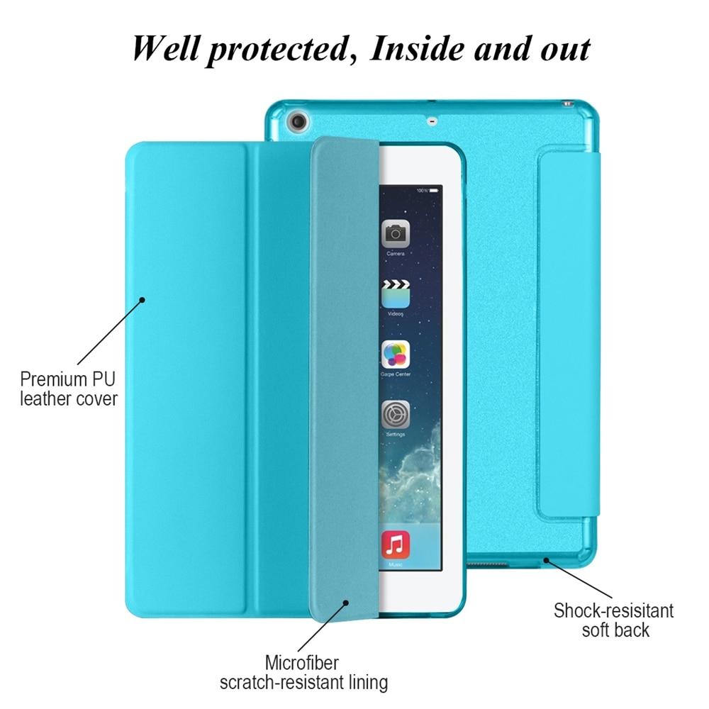 Funda para iPad Air 2 Air 1 [Respaldo suave de silicona con - Accesorios para tablets - foto 4