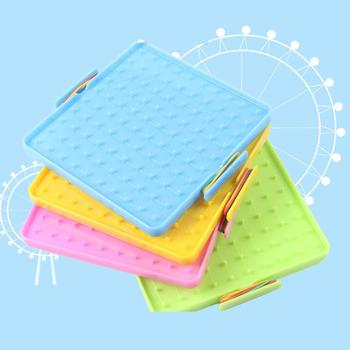 4Pcs 16x16cm Double-Sided Array Nail Geoboards Intelligence Developmental Toys Children Educational Toy Gift  For