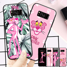 Attractive Kute Pink Panther Pattern For Samsung Galaxy S6 S7 Edge S8 S9 Plus Note 3 4 5 8 9 Hard Phone Case