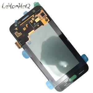 Image 4 - Test Süper Amoled Samsung Galaxy J5 2015 J500 J500F J500M Ekran dokunmatik ekranlı sayısallaştırıcı grup J500 LCD Değiştirme