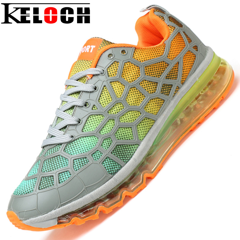 ФОТО Keloch Brand Shoes Men Sneakers Male Breathable Jogging Training Shoes Shock Absorption Men Running Shoes Zapatillas Hombre