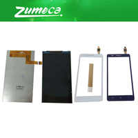 High Quality For Lenovo A536 LCD Display Screen+Touch Screen Digitizer White Black Color Replacement Part With Free Tape