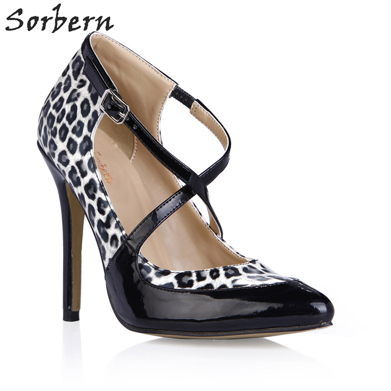 nice shoes best deals on coupon codes Sorbern Leopard White Pump High Heels 2018 Plus Size Ladies Shoes Multi  Color Shoes Ladies Pumps Club Heels Shoes Woman Heels-in Women's Pumps from  ...