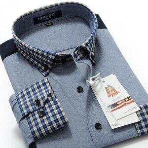 Image 1 - הגעה חדשה שמנים זכר ארוך שרוול הכותנה mercerized חולצה בתוספת גודל רופף M L XL XXL 3XL 4XL 5XL 6XL 7XL 8XL 9XL 10XL
