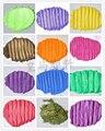 500 g/bolsa de Perlas Multicolor polvo de Mica Pigmento Pigmento Nacarado Para La Fabricación de Cosméticos de Color Morado Claro
