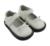 Los zapatos de las niñas de plata white glitter mary jane suela plana con bowtie wedding wholesale retail envío gratis