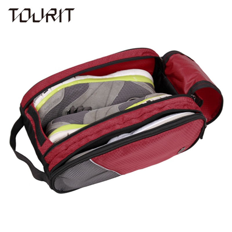 TOURIT Shoes Bag Double Compartments Multifunction Womens and Mens Travel Bags Bussiness Travel Bag