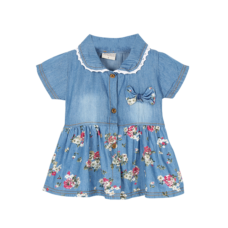 Popular Denim Flower Girl Dress-Buy Cheap Denim Flower Girl Dress ...
