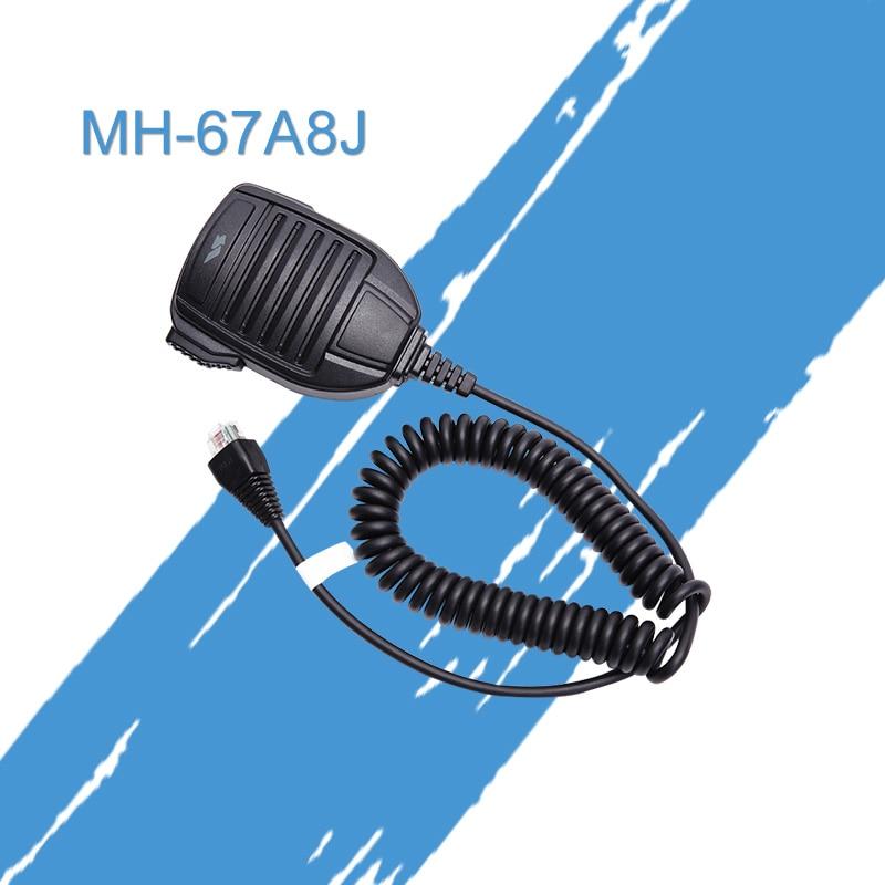 MH-67A8J For Vertex VX-2500 VX-2508 VX-2208 VX-2108 Mobile Radio Remote Speaker Microphone Control Microphone