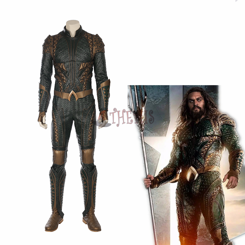Athemis Movie Justice League cosplay Aquaman  Cosplay Costumes high quality custom made