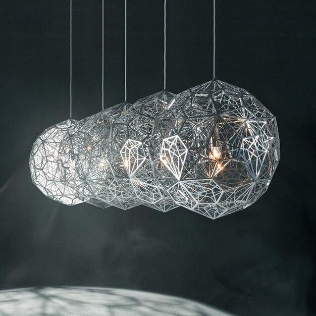 Modern kerek fém labdák világítótestek, északi medálok, - Beltéri világítás